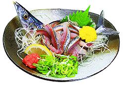 秋刀魚のタタキ