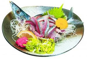 秋刀魚のタタ4キ