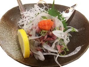 秋刀魚タタキ