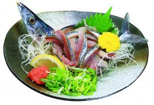 秋刀魚のタタキ2